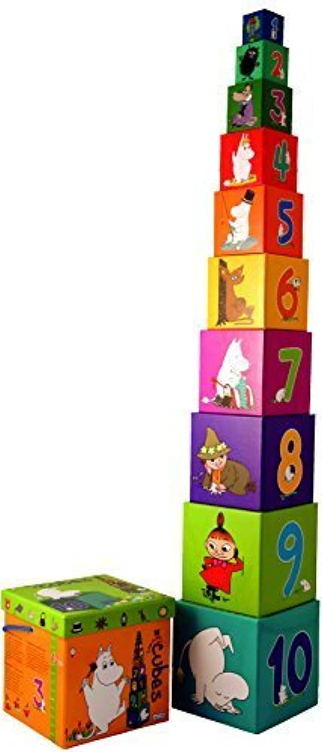 Moomin - Stacking cubes (Barbo-Toys) [7250] by Barbo Toys [並行輸入品]