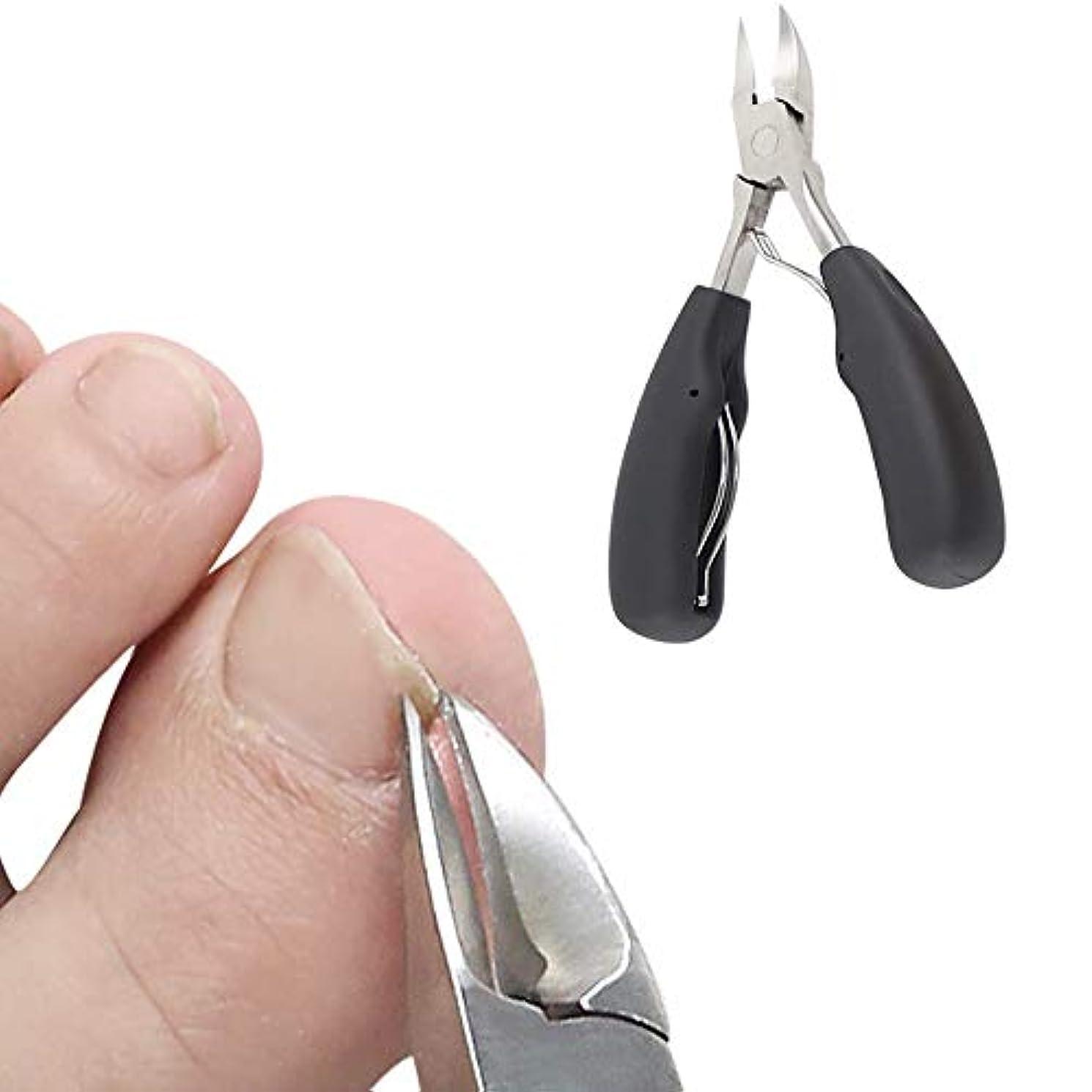 消毒する桁神学校TKbide 爪切り ニッパー型爪切り 巻き爪 硬い爪 切れ味抜群 陥入爪 便利性 切れ味抜群