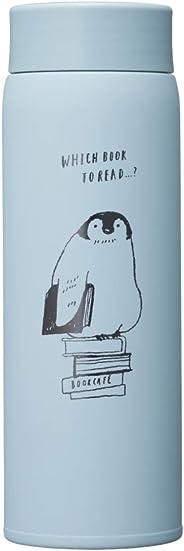 ドウシシャ マグボトル ブルー 480ml 軽量マグボトル アニマルブック ペンギン ふわふわAir ABFB480BP