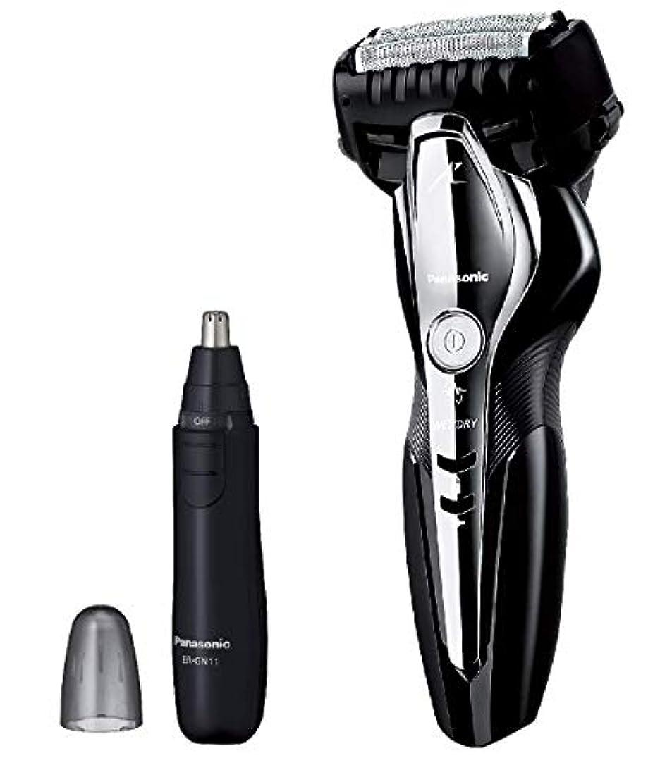 完全に乾く金銭的移植パナソニック ラムダッシュ メンズシェーバー 3枚刃 お風呂剃り可 黒 ES-ST2Q-K + エチケットカッターER-GN11-K セット