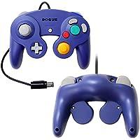 【DOGUE】 ニンテンドー ゲームキューブ コントローラー Switch WiiU Wii 互換品 振動対応 バイオレット