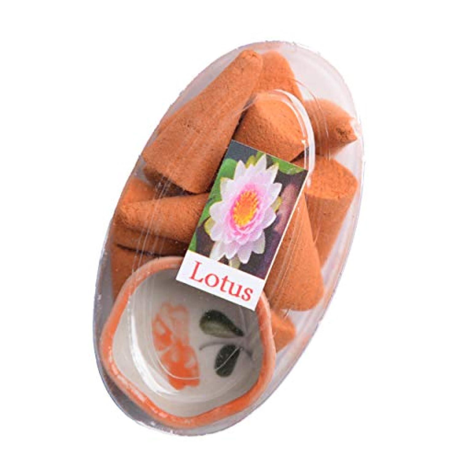 亜熱帯木製ボアMARAI(マーライ) お香 コーン お香たて付き ロータス