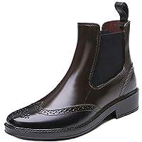 MEIGUIshop Rain Boots - Non-Slip Short Boots rain Boots Water Shoes Overshoes Rubber Shoes