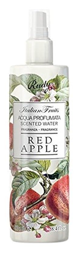 ホバー食事無駄だRUDY Italian Fruits Series ルディ イタリアンフルーツ Body Mist ボディミスト Red Apple