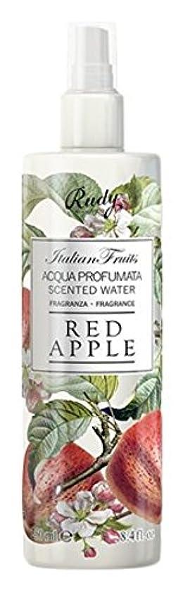 圧力考古学者服を洗うRUDY Italian Fruits Series ルディ イタリアンフルーツ Body Mist ボディミスト Red Apple