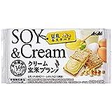 アサヒグループ食品 クリーム玄米ブラン豆乳カスタード 72g×6箱