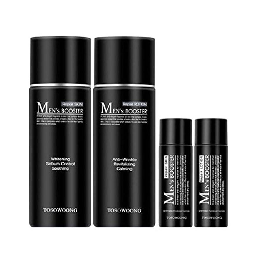 嘆願登録ルートソウン?マンズ?ブースタースキン(150+30ml) ローション(150+30ml)、男性用化粧品、Tosowoong Men's Booster Skin(150+30ml) Lotion(150+30ml) [並行輸入品]