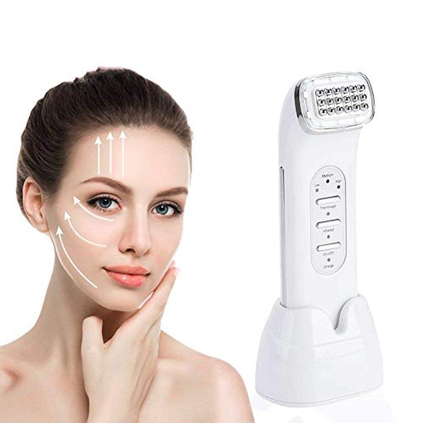 病的パイル多用途美顔術、より良いのしわの取り外しの皮の美機械をきつく締める装置の表面持ち上がる装置を調色するLED