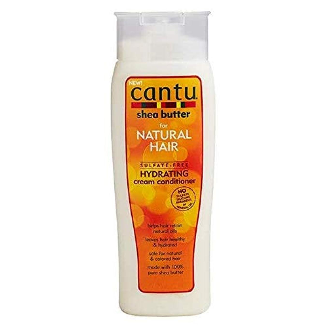 結果キャスト剥離[Cantu ] カントゥ硫酸フリーの水和クリームコンディショナー400ミリリットル - Cantu Sulfate-Free Hydrating Cream Conditioner 400ml [並行輸入品]