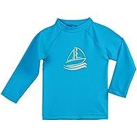 ESTAMICO キッズ 長袖 ラッシュガード Tシャツ UVカットUPF+50 子供用 水着 水陸両用…