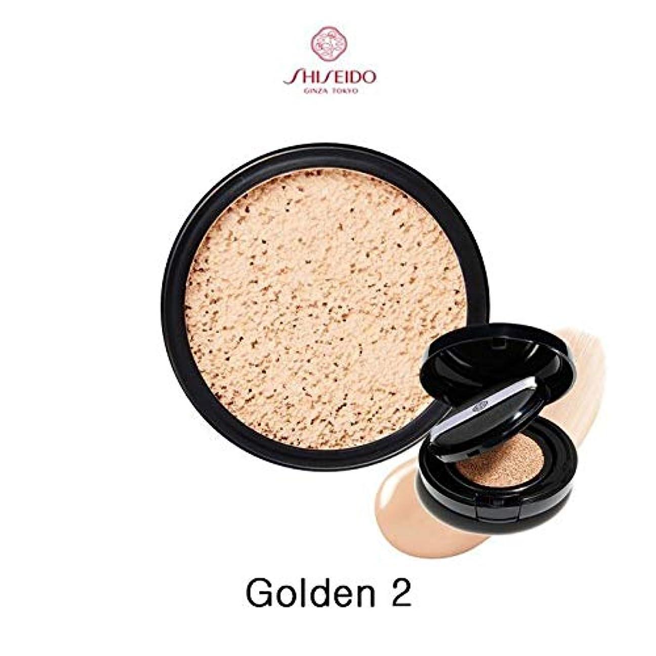 投げ捨てる鎮静剤致命的なSHISEIDO 資生堂 シンクロスキン グロー クッションコンパクト オークル10 レフィル(Golden 2)