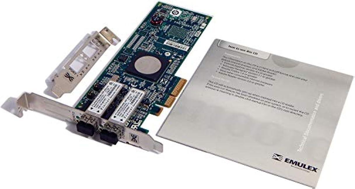 恒久的葉っぱすぐにEmulex LightPulse LPe11002-E - ホストバスアダプター - 2ポート (LPE11002-E) - (認定リファービッシュ)