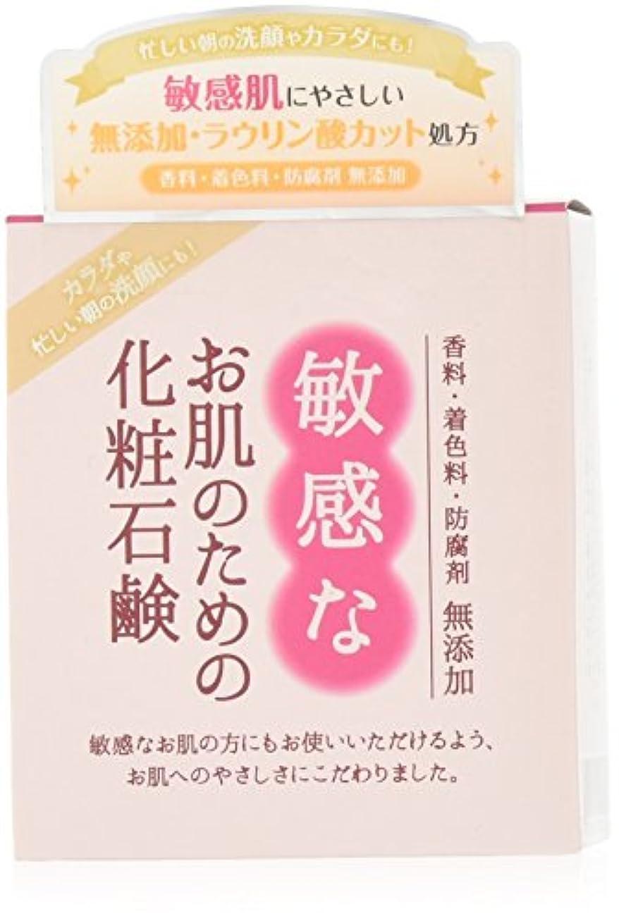 かすれた偉業不定敏感なお肌のための化粧石鹸 100g CBH-S