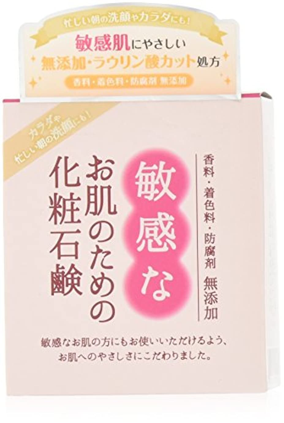 特異な解説支援敏感なお肌のための化粧石鹸 100g CBH-S
