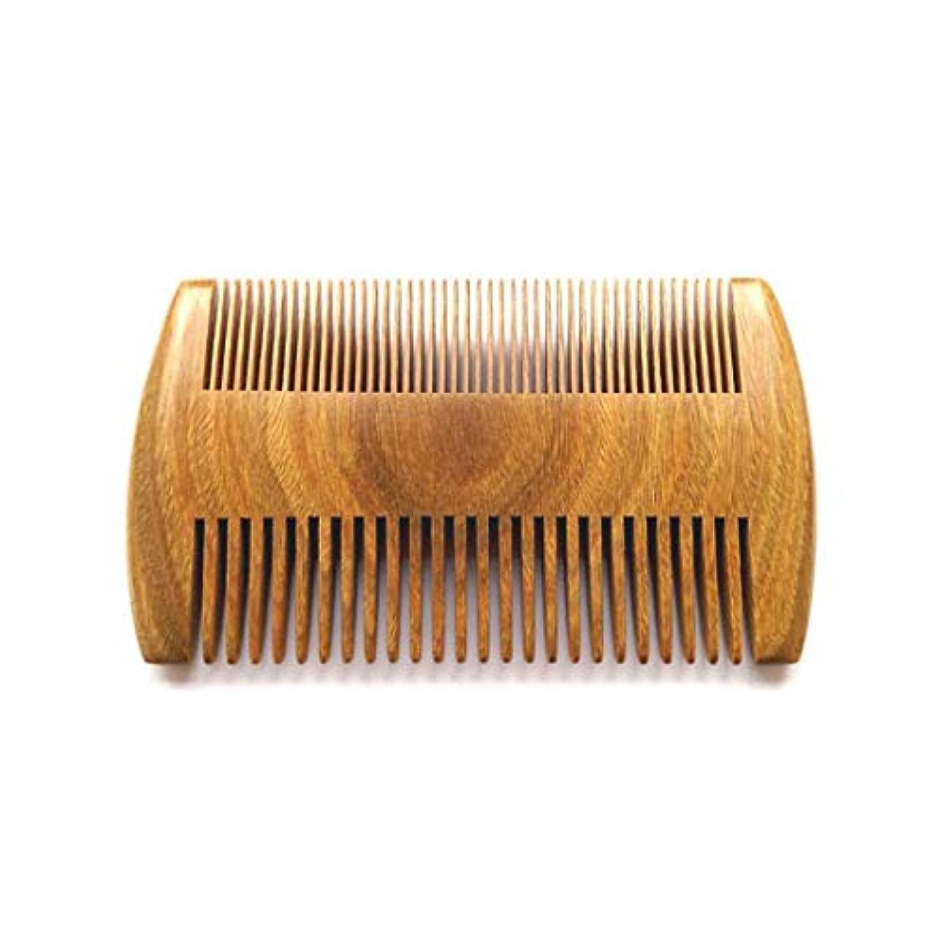 エイリアン継続中中断Guomao 健康な頭皮および毛のために非常に適したハンドメイドの自然な白檀の櫛 (色 : Wood color)