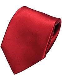 [オジエ] ozie【ネクタイ・セッテピエゲ・セブンフォールド】絹シルク100%・サテン・ソリッド無地・日本製・ハンドメイドの高級ネクタイ レッド赤