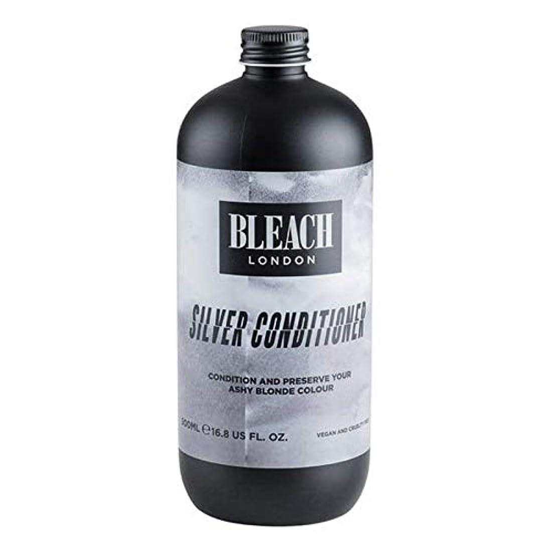 掃除コンデンサー松[Bleach London ] 漂白ロンドン銀コンディショナー500ミリリットル - Bleach London Silver Conditioner 500ml [並行輸入品]