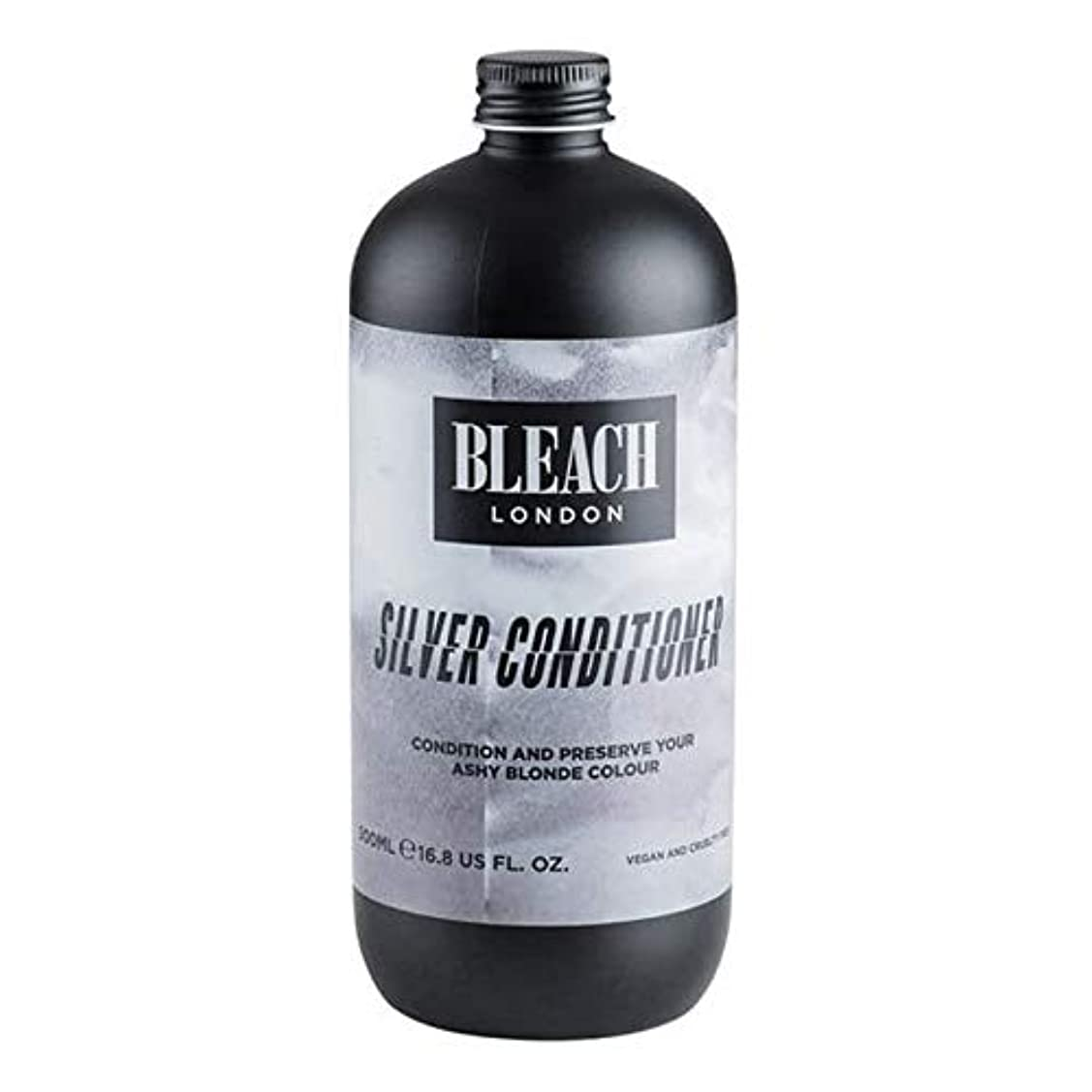 先例疫病光景[Bleach London ] 漂白ロンドン銀コンディショナー500ミリリットル - Bleach London Silver Conditioner 500ml [並行輸入品]