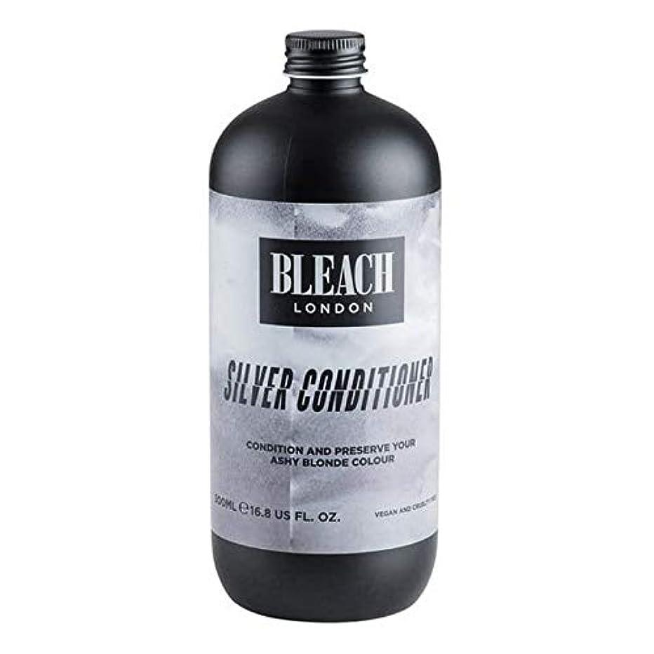 る一目シュート[Bleach London ] 漂白ロンドン銀コンディショナー500ミリリットル - Bleach London Silver Conditioner 500ml [並行輸入品]