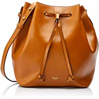 Oroton Women's Escape Medium Bucket Bag, Cognac, One Size