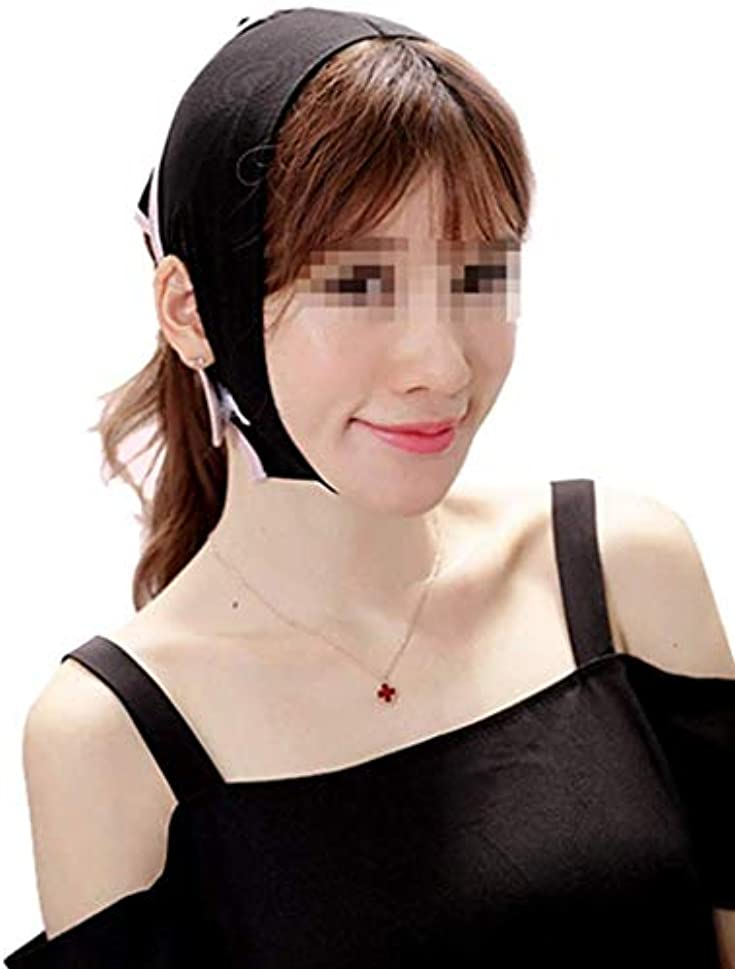 コンパス債務バナナ美容と実用的なフェイスリフトマスク、スモールVフェイス睡眠包帯マスク、薄いダブルチンリフトファーミングスキン