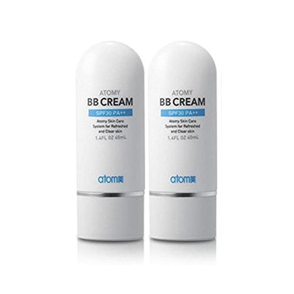抽象相談大気アトミ化粧品 アトミBBクリームSPF30 PA++40ml x 2本, Atomy Cosmetic Atomy BB Cream SPF30 PA++ 40ml x 2pcs, Atomi Cosmetic Atom...