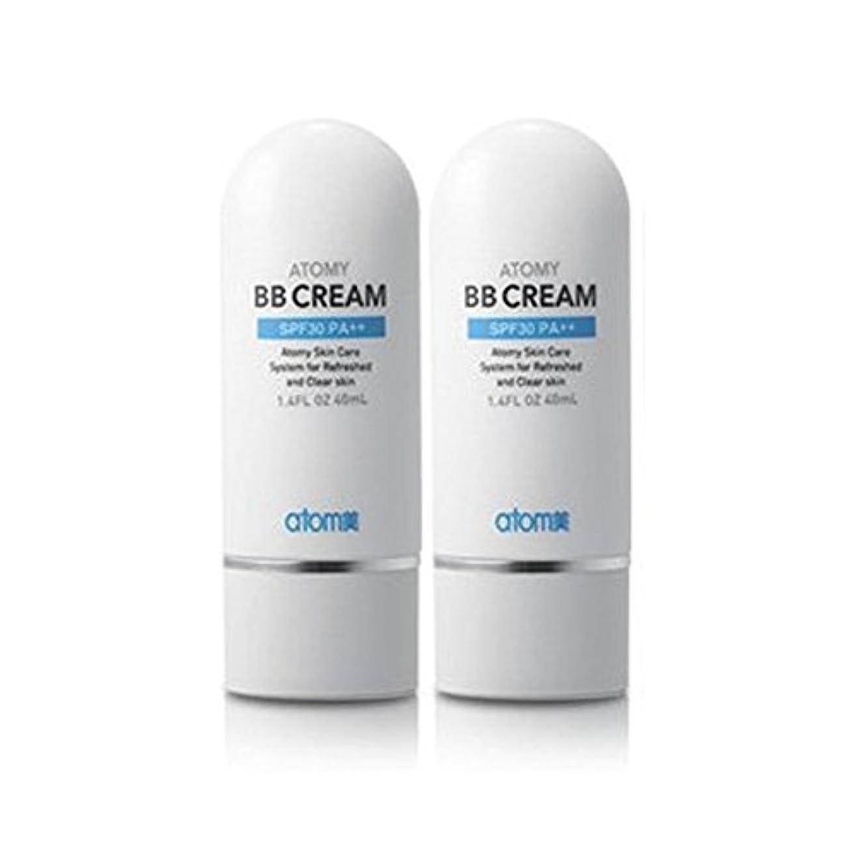質素な六うつアトミ化粧品 アトミBBクリームSPF30 PA++40ml x 2本, Atomy Cosmetic Atomy BB Cream SPF30 PA++ 40ml x 2pcs, Atomi Cosmetic Atom...