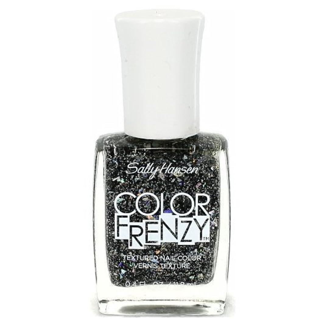符号丁寧浴室SALLY HANSEN Color Frenzy Textured Nail Color - Spark & Pepper (並行輸入品)