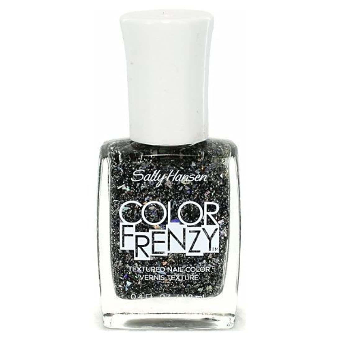 追加以内にドラムSALLY HANSEN Color Frenzy Textured Nail Color - Spark & Pepper (並行輸入品)