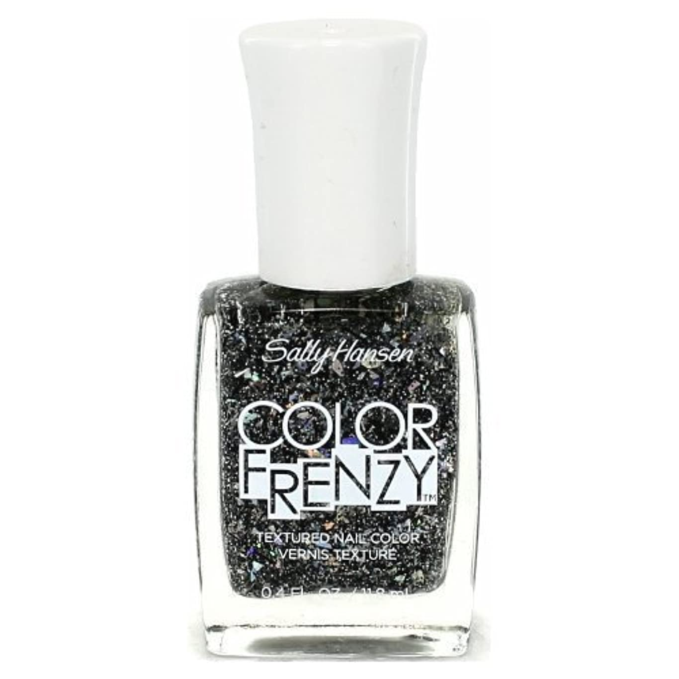 盟主南方の万一に備えてSALLY HANSEN Color Frenzy Textured Nail Color - Spark & Pepper (並行輸入品)