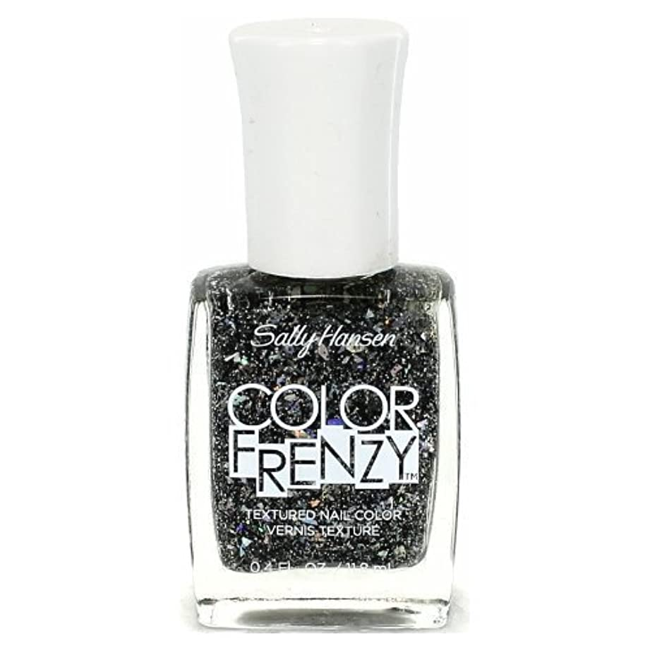 クリア散文フォークSALLY HANSEN Color Frenzy Textured Nail Color - Spark & Pepper (並行輸入品)