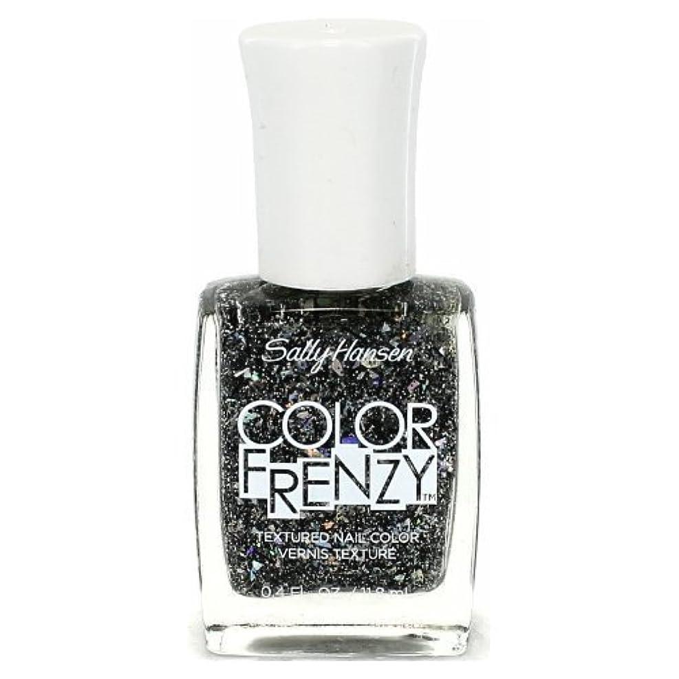 予言する申込み値SALLY HANSEN Color Frenzy Textured Nail Color - Spark & Pepper (並行輸入品)