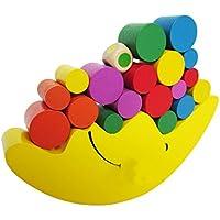 Lixinsunbu お月さまバランスゲーム 木のおもちゃ 知育玩具 木製パズル 贈り物 誕生日プレゼント 出産祝い