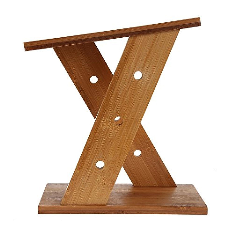 ナイフホルダー、ユニバーサルナイフブロック4ナイフとはさみの竹で作られたナイフブロック