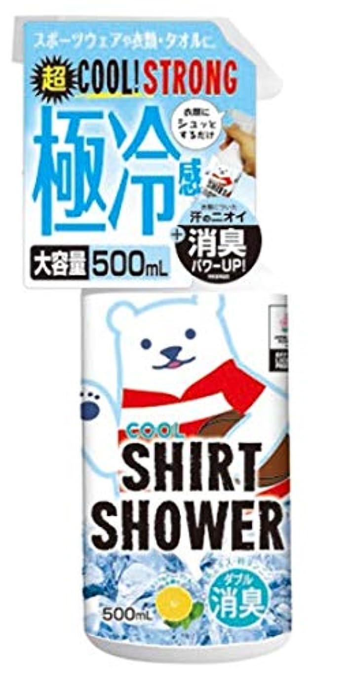 ツイン報いる格納【数量限定】ラグビー日本代表コラボ ひんやりシャツシャワー ストロングラグビー 500ml (1個)