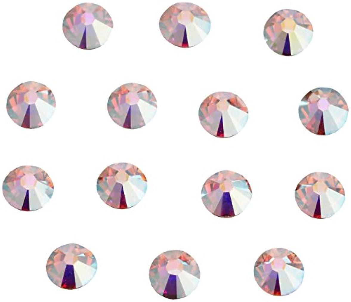 事務所掘る瞑想するネイルアートパーツ クリスタルAB SS7:2.1~2.3mm 240P