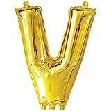 検査済み 飾り付け 風船 文字 勝利 ビクトリー ゴールドバルーン(V) 約90cm 誕生日/開店祝い?チーム名/クラブ名 ディスプレイ メール便 ぺたんこ状態で発送 (本州?通常2~5日で到着)