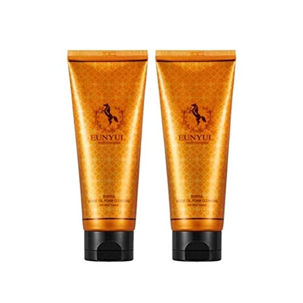 スイはっきりとランドマークEunyul馬油フォームクレンジング150mlx2本セット韓国コスメ、Eunyul Horse Oil Foam Cleansing 150ml x 2ea Set Korean Cosmetics [並行輸入品]