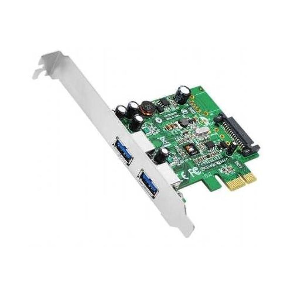 事前バー憂慮すべきSiig IOカードju-p20612-s1 DP SuperSpeed USB 2 - Port PCIe