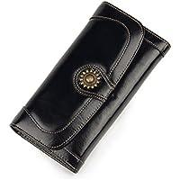 2017新入荷 牛革 本革 長財布 レディース 小銭入れ カード入れ サイフ wallet コンパクト 安い 人気 大容量 可愛い