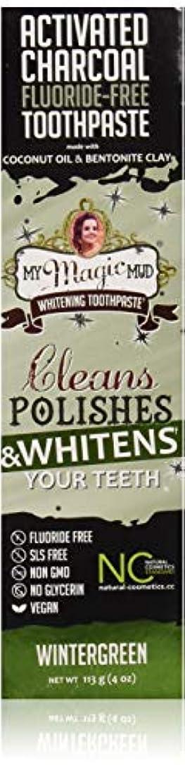マイマジックマッドホワイトニング歯磨き粉 (ウインターグリーン)