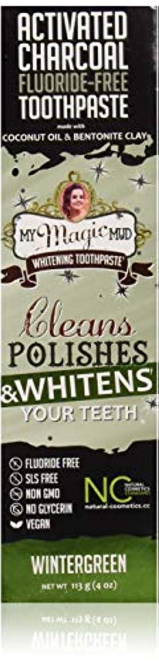くびれたコードレス魅了するマイマジックマッドホワイトニング歯磨き粉 (ウインターグリーン)