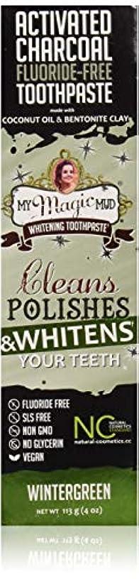 歯科医むしゃむしゃまともなマイマジックマッドホワイトニング歯磨き粉 (ウインターグリーン)