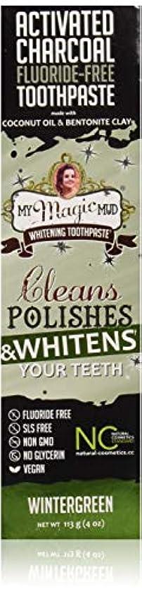 クリスマスやむを得ないかもめマイマジックマッドホワイトニング歯磨き粉 (ウインターグリーン)
