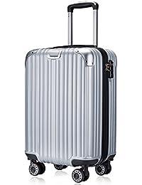 TTOvaligeria[TTOバリジェリア] スーツケース 軽量 静音 TSAロック搭載 ファスナータイプ 機内持ち込み
