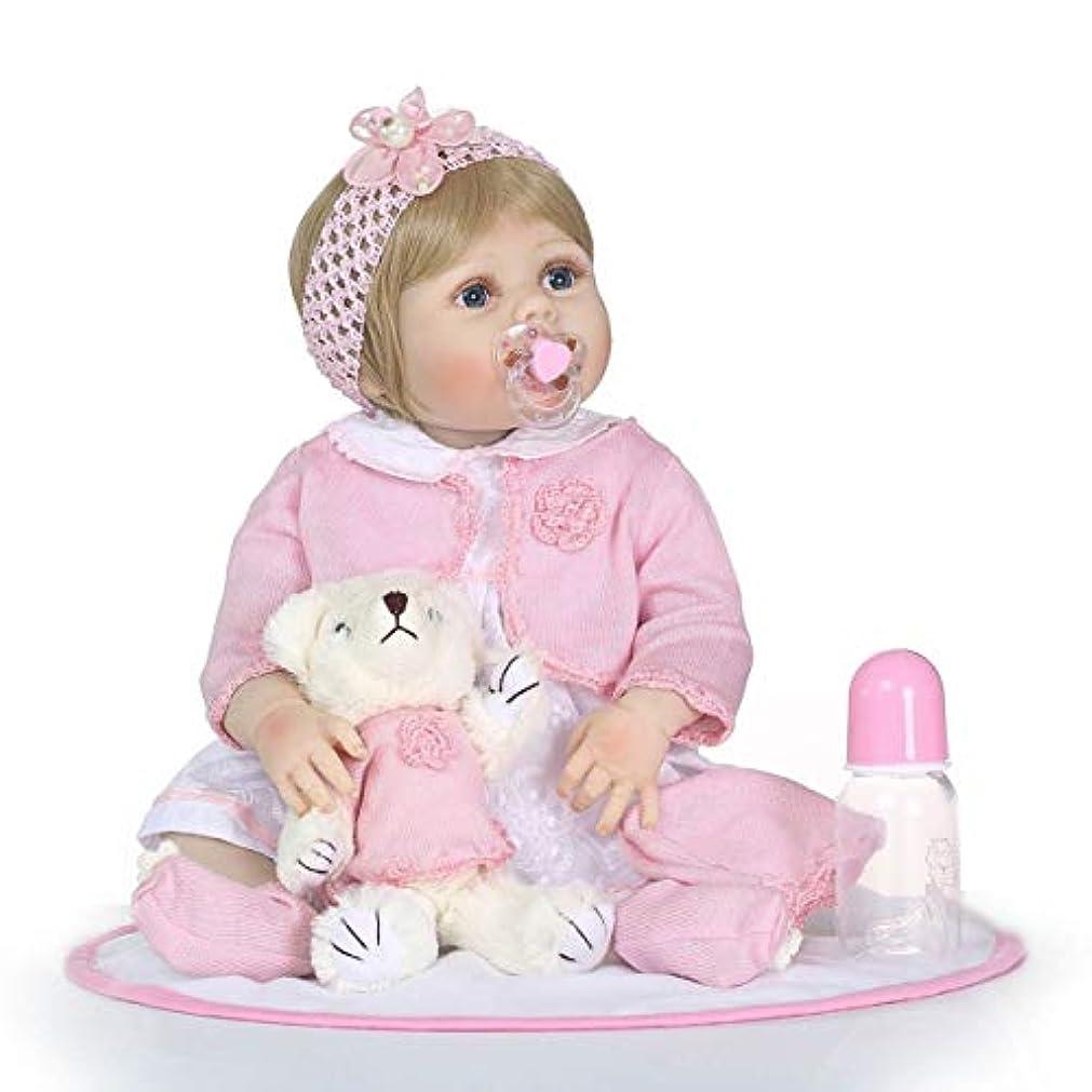 サバント賛美歌進化21インチフルボディシリコンビニールリアルな幼児生まれたばかりの赤ちゃんかわいいおもちゃリボーンベビードール非毒性子供遊ぶおもちゃギフト-多色