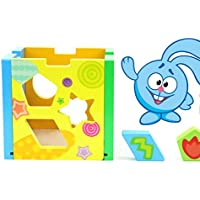 chusea Interesting Kids Toyブランド新しいカラフルな形状ソーター幾何ソートボックス教育形状色認識Toy for Kids