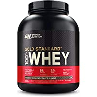 Gold Standard 100% ホエイ プロテイン ダブルリッチチョコレート 2.27kg (5lbs) [米国メーカー正規品] [海外直送品]