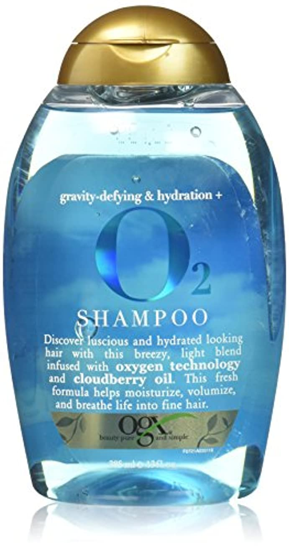 玉松送信する2本セット Ogx O2 Shampoo 13 oz [並行輸入品]