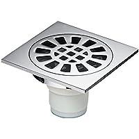 HY 浴室普通床排水浴室下水道スクエアシルバーフロア排水消臭剤